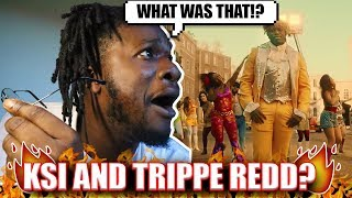 KSI – Wake Up Call (feat. Trippie Redd) [Official Music Video] REACTION