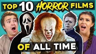College Kids React To Top 10 Highest Grossing Horror Movies Of All-Time