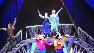 [4K HD] Disney on Ice: Frozen Live Show  -  Center View!!!