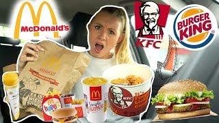 Food coma 😋... LASSE DIE PERSON VOR MIR im DRIVE IN entscheiden was ich ESSE! 🍔🍟