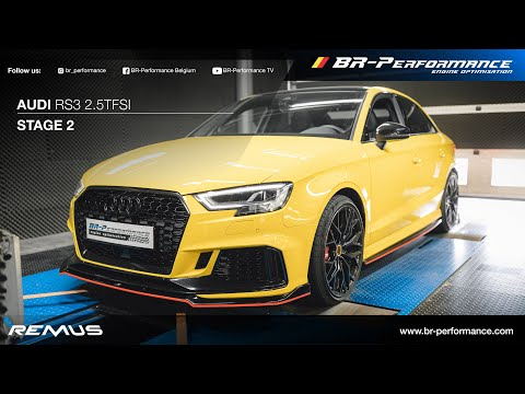 Audi RS3 2.5TFSI / Stage 2 By BR-Performance / Remus Exhaust