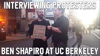 Communists and SJWs at Ben Shapiro UC Berkeley