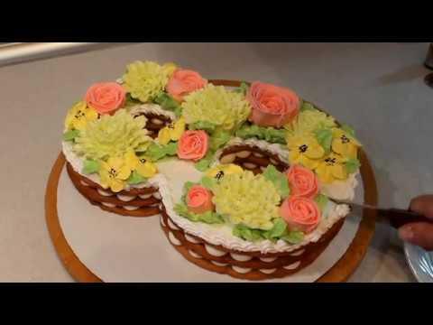 Торт На 8 Марта !!!!!!!!РЕЦЕПТ!!!!!!!! photo