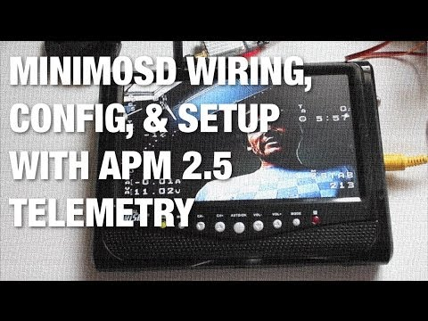 apm telemetry minimosd wiring firmware load and. Black Bedroom Furniture Sets. Home Design Ideas