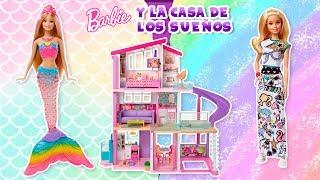 Nos divertimos con Barbie Sirena y Barbie Crayola en la casa de sus sueños ¡te encantará!