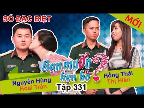 BẠN MUỐN HẸN HÒ - SỐ ĐẶC BIỆT   Tập 331 - FULL   Nguyễn Hùng - Hoài Trân   Hồng Thái - Thị Hiền