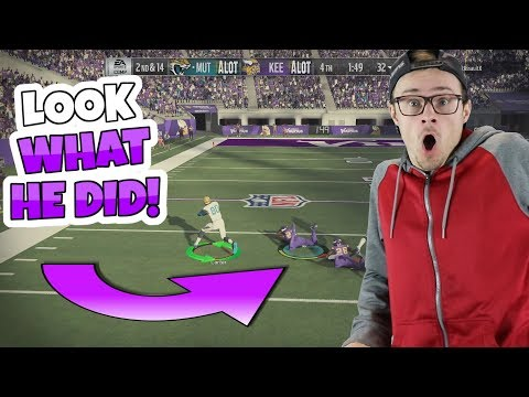 DEEP TOUCHDOWNS LEFT AND RIGHT!! THE LAST ONE WITH THE BALL IS GONNA WIN!! Madden 18 Packed Out