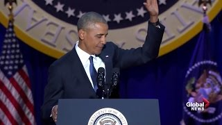 President Barack Obama's farewell address (full speech)
