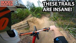 EPIC DOWNHILL FREERIDE High Speed Trails! - Mt Prevost | Jordan Boostmaster