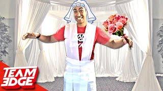Toilet Paper Wedding Dress Challenge!