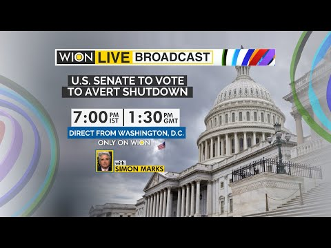 WION Live Broadcast | US Heading for govt shutdown? | Democrats race to prevent govt shutdown