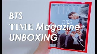 BTS (방탄소년단) TIME MAGAZINE UNBOXING