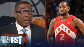 Kawhi is focused on NBA Finals, not free agency right now - Cris Carter | NBA | FIRST THINGS FIRST