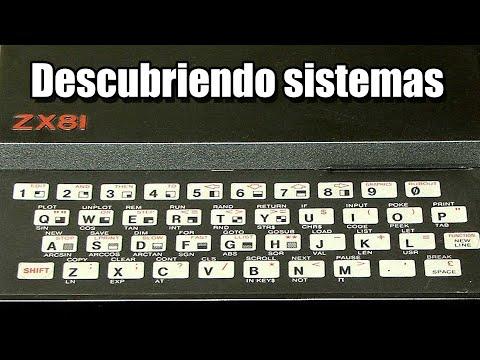 DESCUBRIENDO ZX81 Y SUS JUEGOS