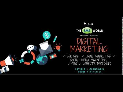 The SMS World - Digital Marketing Services India - SEO - SMO - Bulk SMS