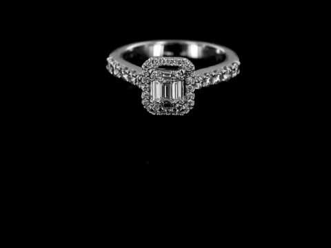 Browns Family Jewellers Art Deco Cluster Ring