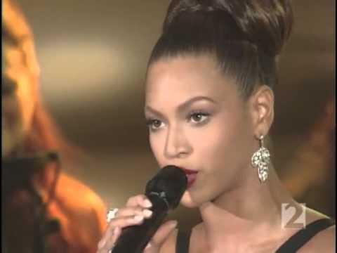 Beyoncé - Listen (live at Oprah) 2006
