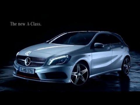 New Mercedes A-Class 250 Spot TV (Pubblicità TV Classe A)