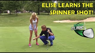 Swing Clinic:  Elise Lobb Learns the Spinner Shot