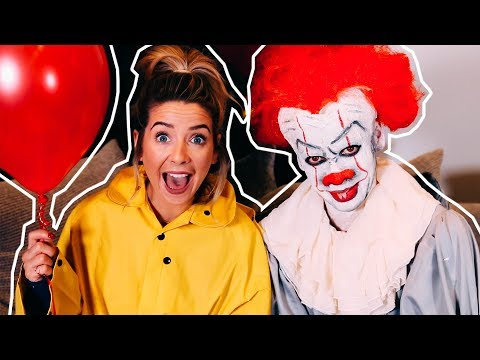 Turning My Brother Into Pennywise   Zoella