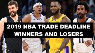 The Winners and Losers of the 2019 NBA Trade Deadline