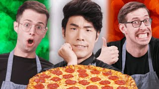 The Try Guys Bake Pizza Without A Recipe