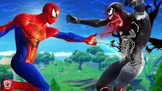 SPIDERMAN VS VENOM!?! - A Fortnite Short Film