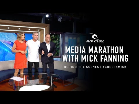 Go Behind The Scenes During Mick?s Media Madness | #CheersMick