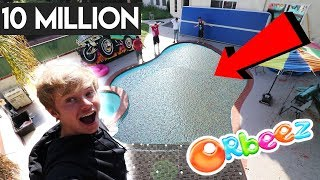 FILLED MY POOL WITH 10 MILLION ORBEEZ