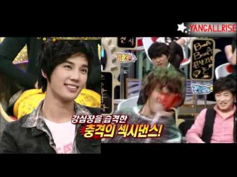 Jokwon (2AM) & Jungmin (SS501) Dance Battle