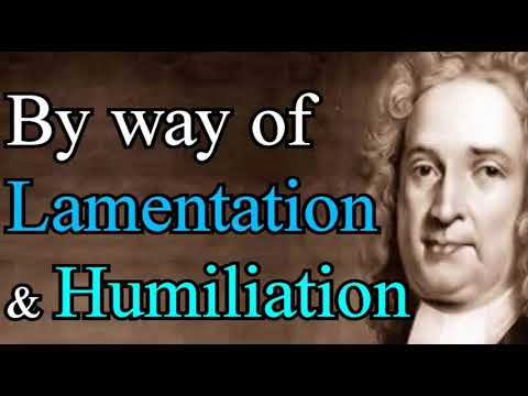 By Way of Lamentation and Humiliation - The Life and Diary of Matthew Henry