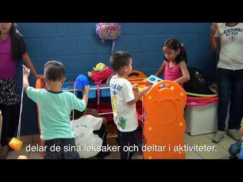 Projektavslut för förskolan I Joya Grande
