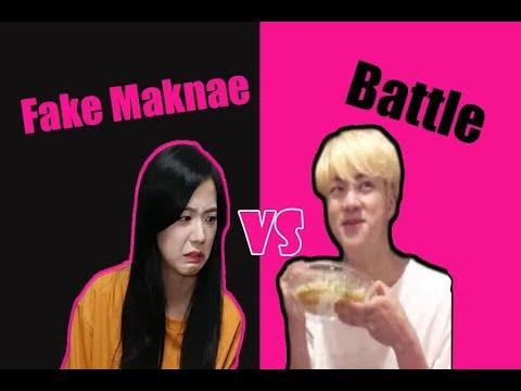 Fake Maknae Battle (Jinsoo) | BlackBangtan Battle Part 3| Ships Edition