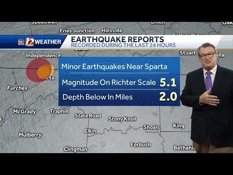 Earthquake rocks NC Sunday morning