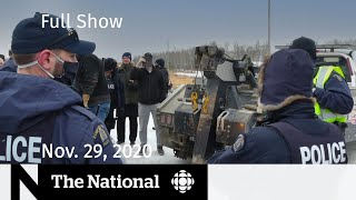CBC News: The National | Manitoba's hotbed of COVID-19 and defiance | Nov. 29, 2020