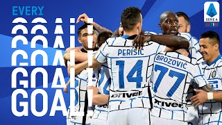 Inter celebrate the title after Atalanta are held by Sassuolo | EVERY Goal | Round 34 | Serie A TIM