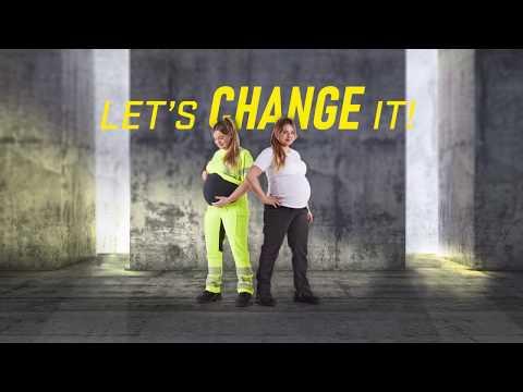 Blåkläder Maternity Trousers - Let's change it!