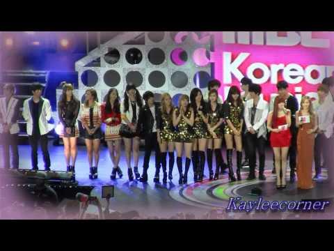[Fancam] Korean music wave concert ending- f(x) focus