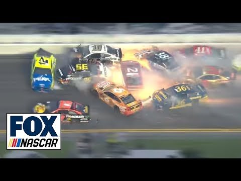 All of the crashes from the 2019 Daytona 500 | NASCAR on FOX
