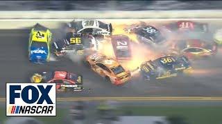 All of the crashes from the 2019 Daytona 500   FOX NASCAR