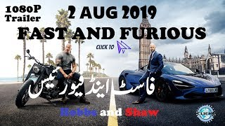 Hobbs and Shaw Latest Trailer 2019