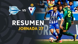 Resumen de Deportivo Alavés vs SD Eibar (1-1)
