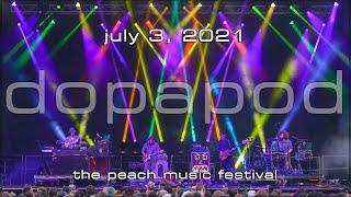 Dopapod: 2021-07-03 - The Peach Music Festival; Scranton, PA (Complete Show) [4K]
