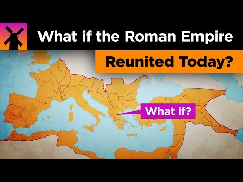 What if the Roman Empire Reunited Today?