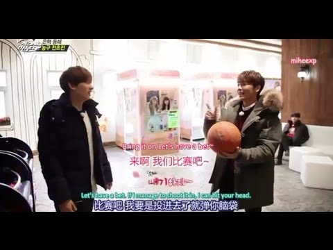 [ENG SUB] SJM Guest House - Donghae wants to play basketball #Eunhae