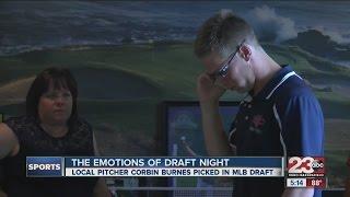 Roller coaster of emotions for Corbin Burnes on MLB Draft Night