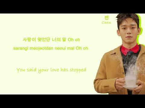 EXO Stay (Color Coded Hangul/Rom/Eng Lyrics)