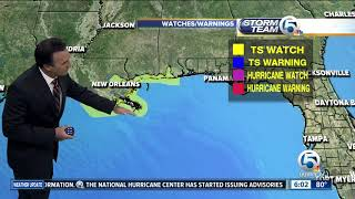 Potential Tropical Cyclone Seven approaches Florida