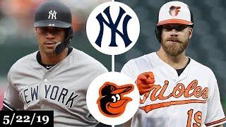 New York Yankees vs Baltimore Orioles - Full Game Highlights   May 22, 2019   2019 MLB Season