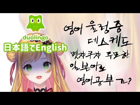 【Duolingo】 Studying English / 日本語で英語を覚える無茶しやがって 【NIJISANJI KR   セフィナ】